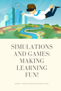 simulations games learning