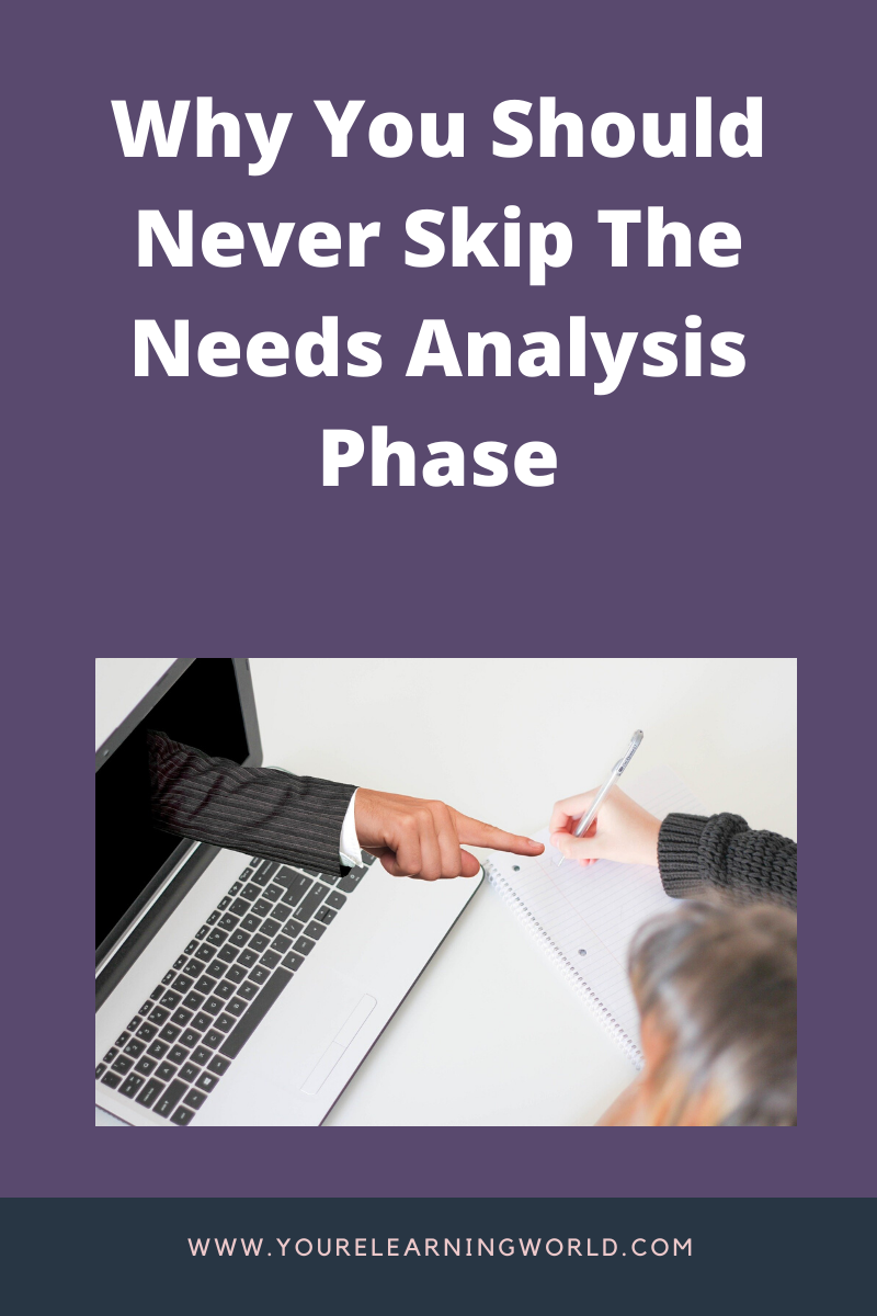 Why you need to conduct eLearning needs analysis