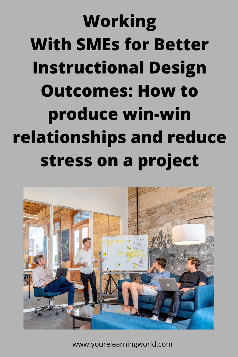 Instructional design_how to work with SMEs