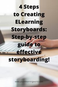 ELearning storyboarding