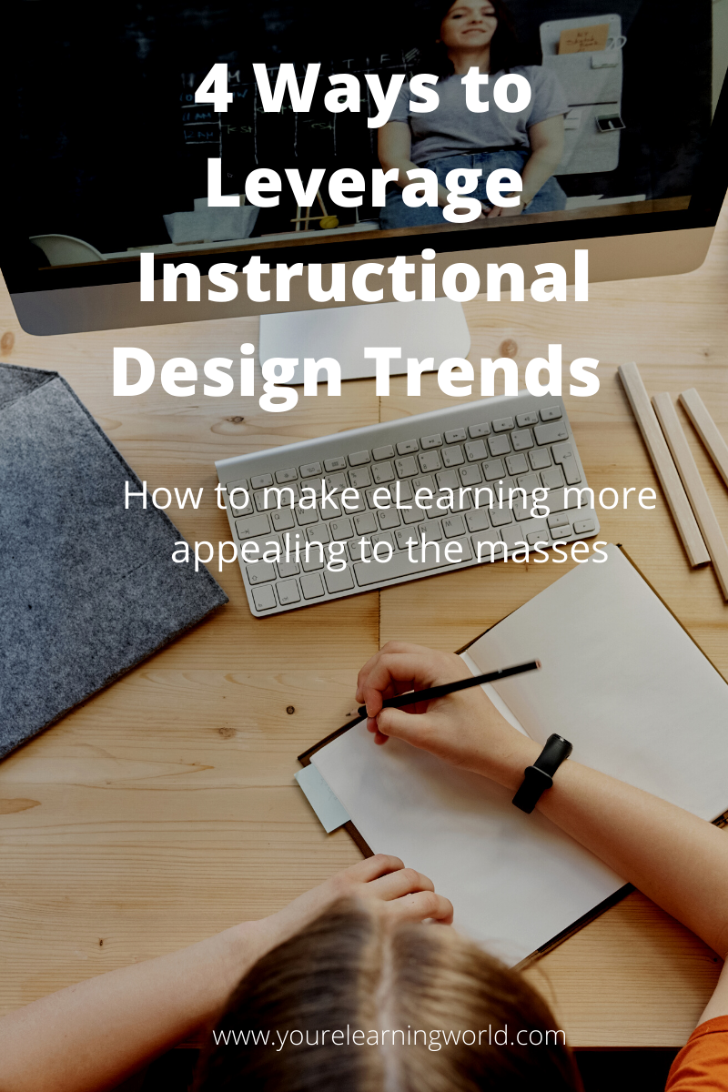 Instructional Design and eLearning trends