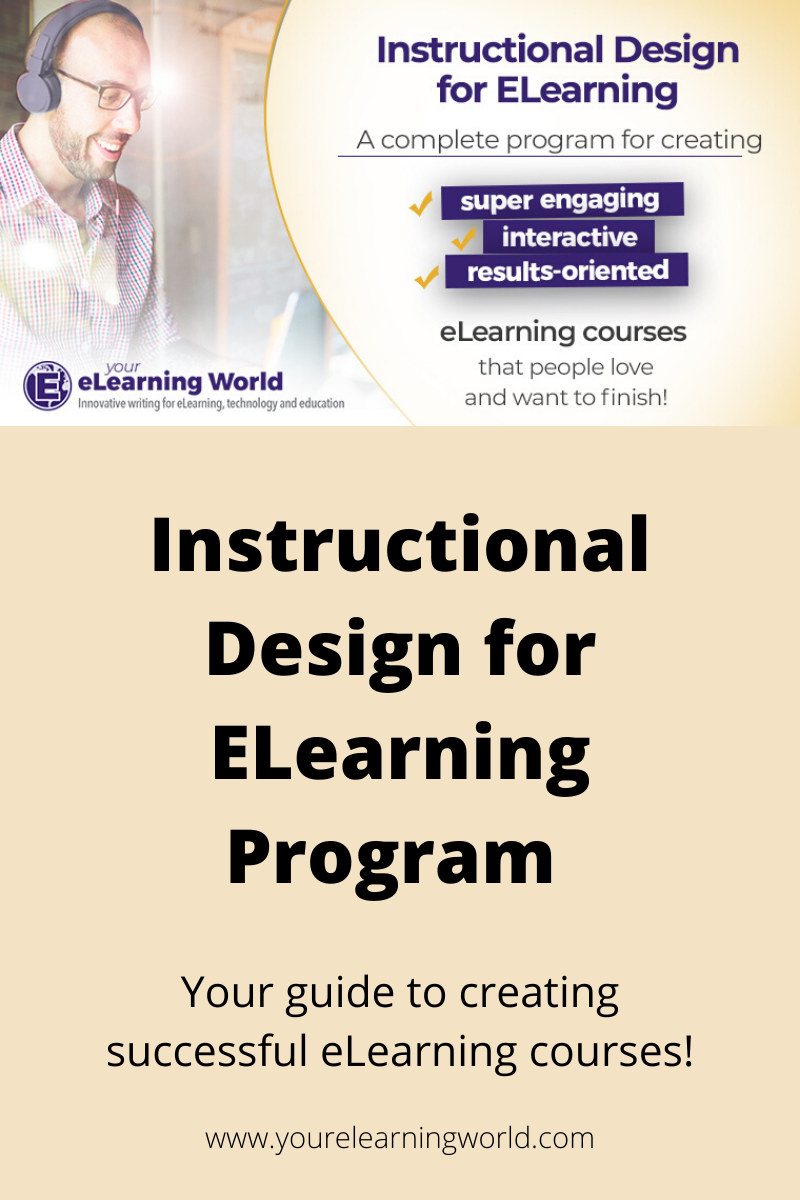 Instructional Design for ELearning Program