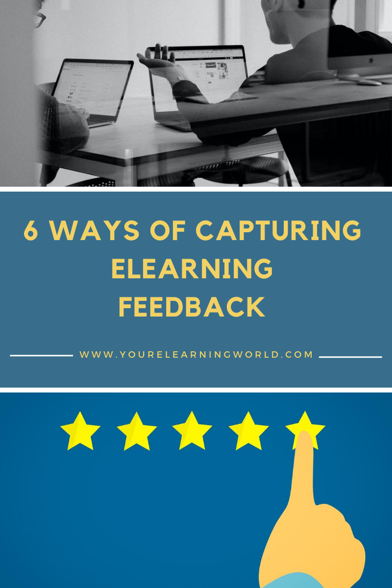 Capturing Elearning Feedback