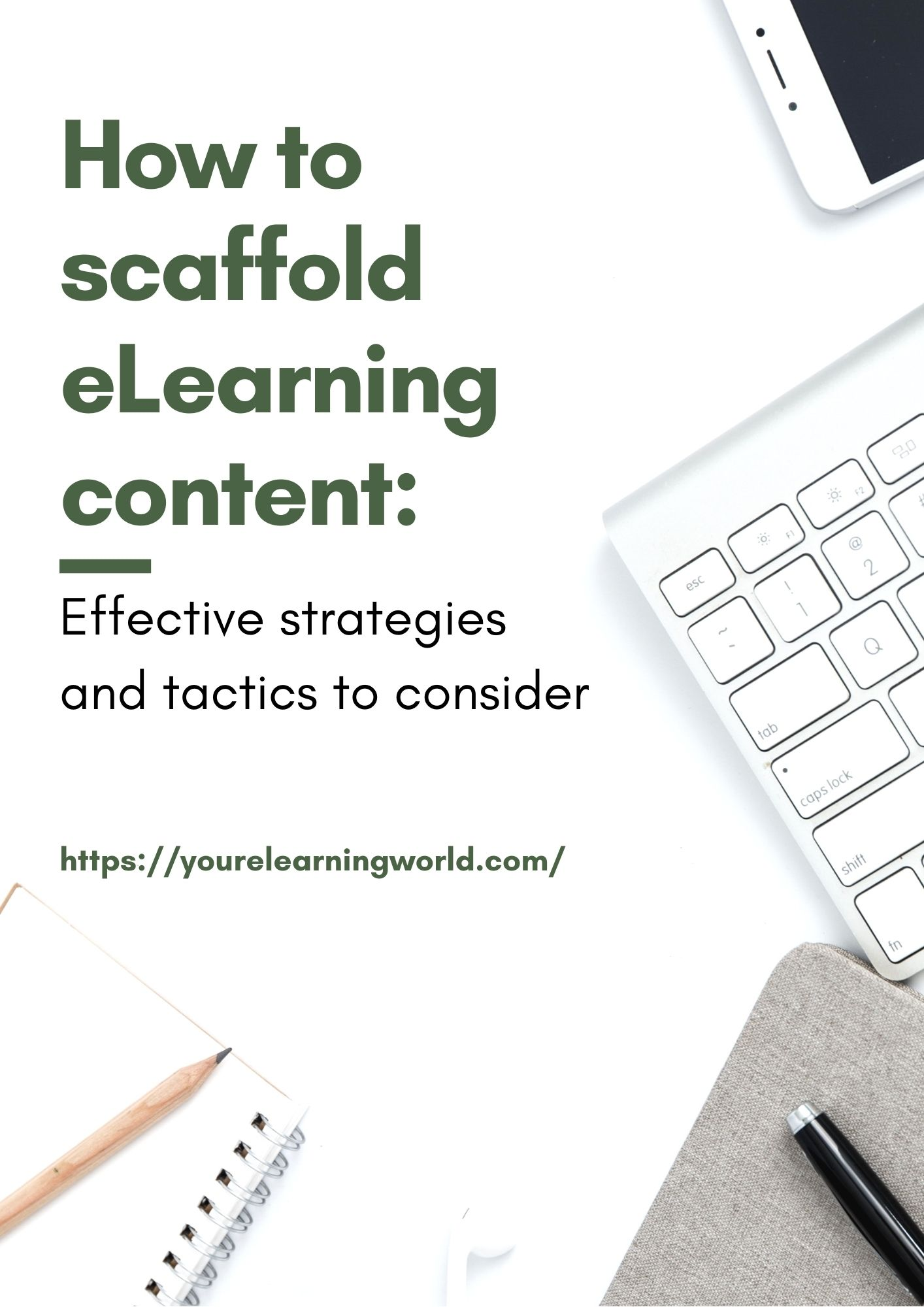 scaffold eLearning content