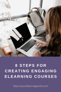 8 Steps to Creating Engaging eLearning Courses