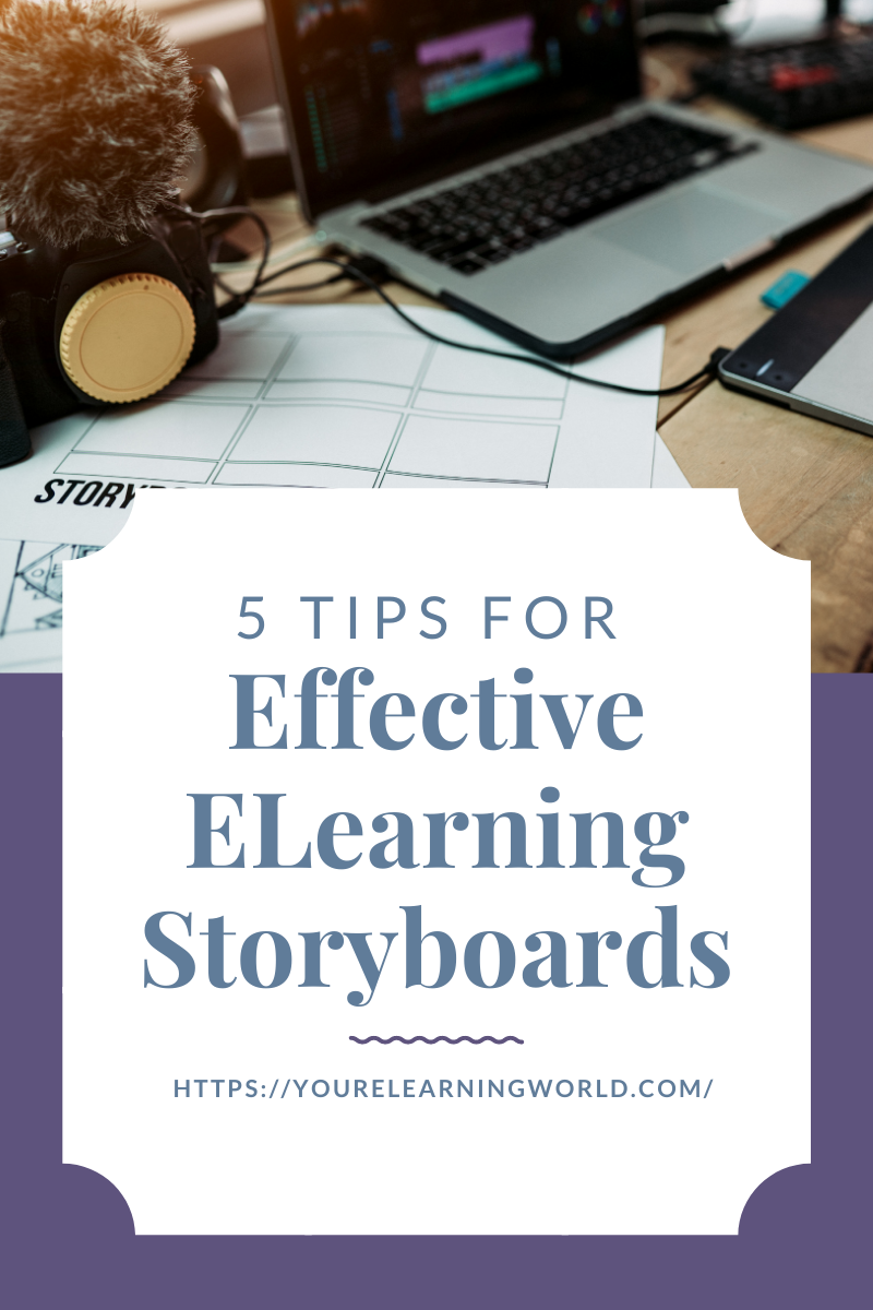 Tips for Effective ELearning Storyboards