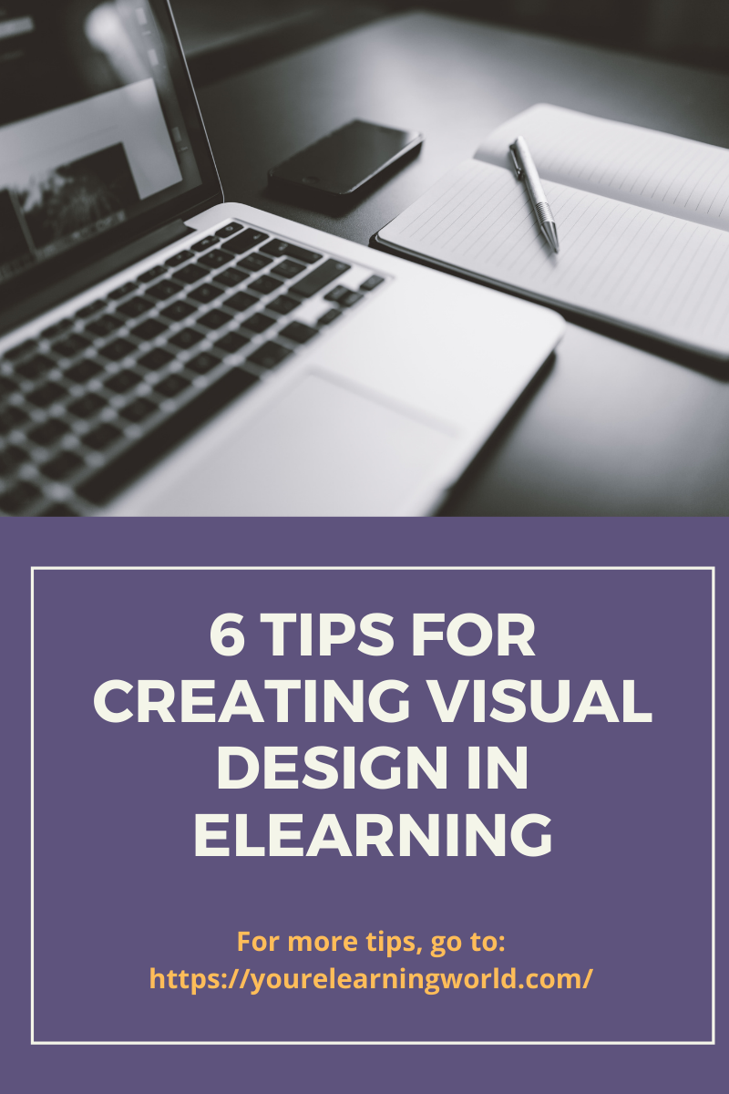 6 tips for creating visual design in eLearning